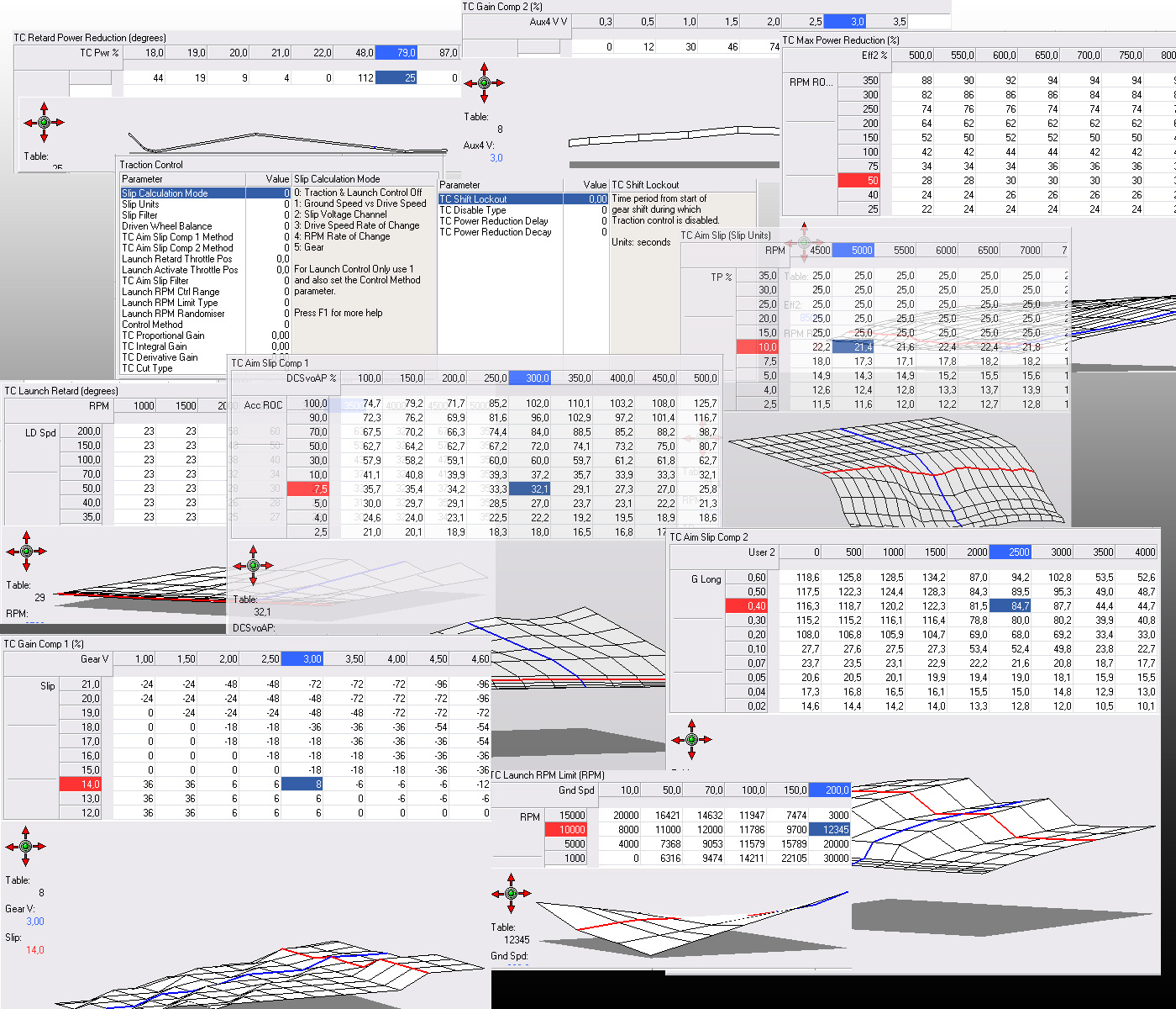 MotecTC DEMOSCREEN! traction control en motec wiring diagrams at nearapp.co
